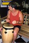Doug hits the Congas in Indianapolis